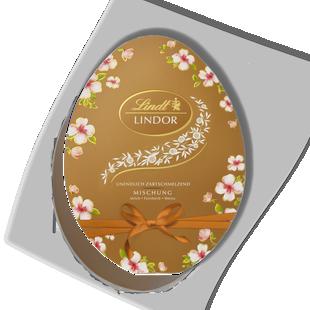 LINDOR Egg Box Assorted 150g