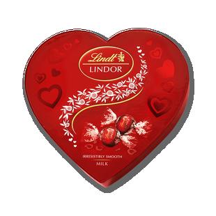 LINDOR Heart Box 200g
