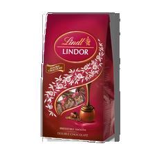LINDOR Double Chocolate Bag 137g