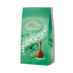 LINDOR Milk & Mint Bag 137g