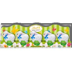 LINDT Sheep Milk Mini 5 Pack Perforation 5x10g