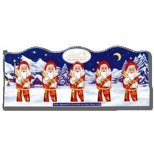 LINDT Santa Milk Mini 5 Pack 5x10g