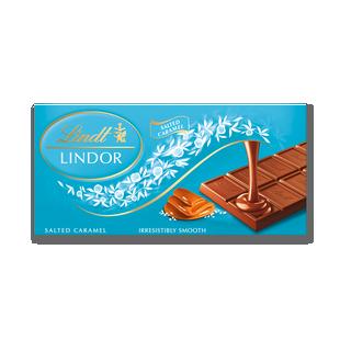 LINDOR Salted Caramel Tablet 100g
